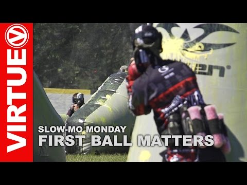Slow-Mo Monday - Morning Paintball - First Ball Matters