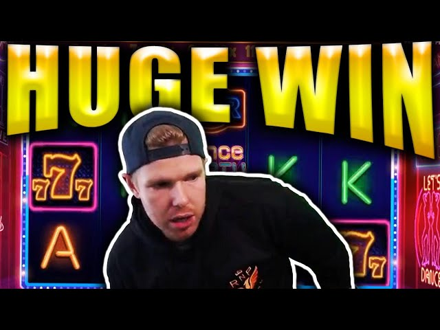 HUGE BIG WIN on DANCE PARTY - Casino Streamers Big Wins