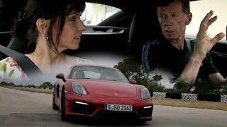 Kleiner Fahrkurs mit Walter Röhrl im Cayman GTS