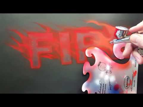 The Airbrush Academy Guide to Airbrushing Fire with Graphics