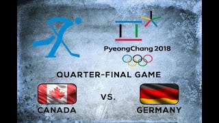 Gambar cover NHL 18 - PyeongChang 2018 - Quarterfinal: Canada (bondralukas19) vs. Germany (SquinkyNator)