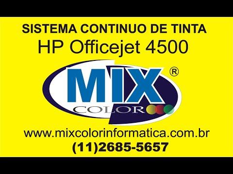 INSTALAÇÃO COMPLETA BULK INK  HP 4500