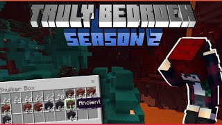 The Hunt for Netherite! Truly Bedrock SMP | Season 2
