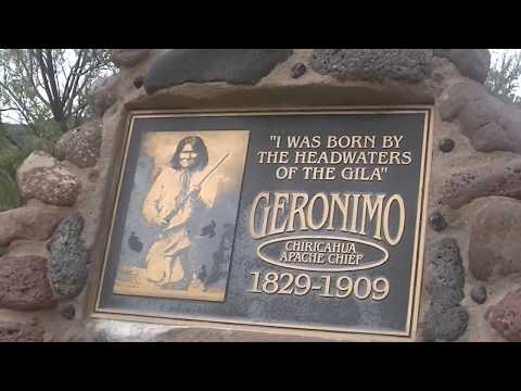 #Geronimo Birthplace Monument By The Gila Cliff Dwellings New Mexico