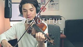 vuclip Goblin OST - Crush - Beautiful [Violin Cover] [Instrumental with lyrics]