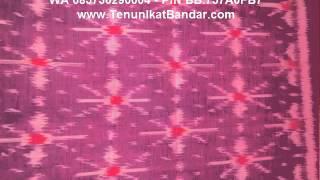cara membuat kain tenun