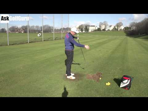 Golf Swing Hand Path on the Downswing