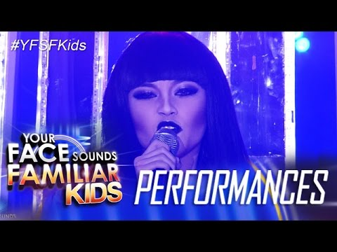 Your Face Sounds Familiar Kids: AC Bonifacio as Jessie J - Domino