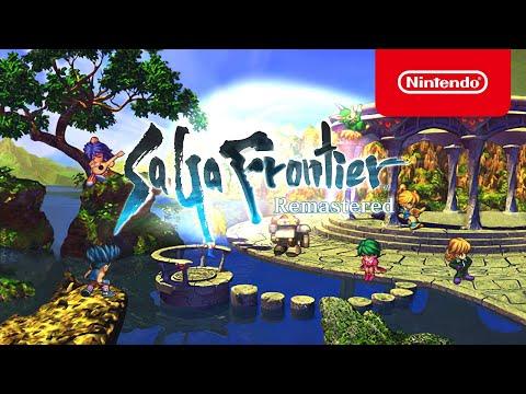 SaGa Frontier Remastered - Pre-order Announcement - Nintendo Switch