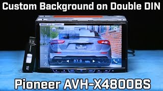 Video How to Change Background to Custom Image on your Stereo - JPEGs download MP3, 3GP, MP4, WEBM, AVI, FLV Juli 2018