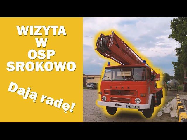 OSP SROKOWO - WIZYTA