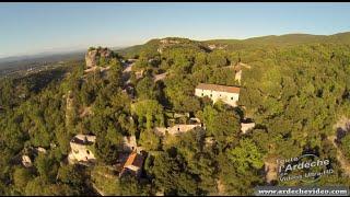 Ardèche - Le Chastelas de Grospierre (4K)