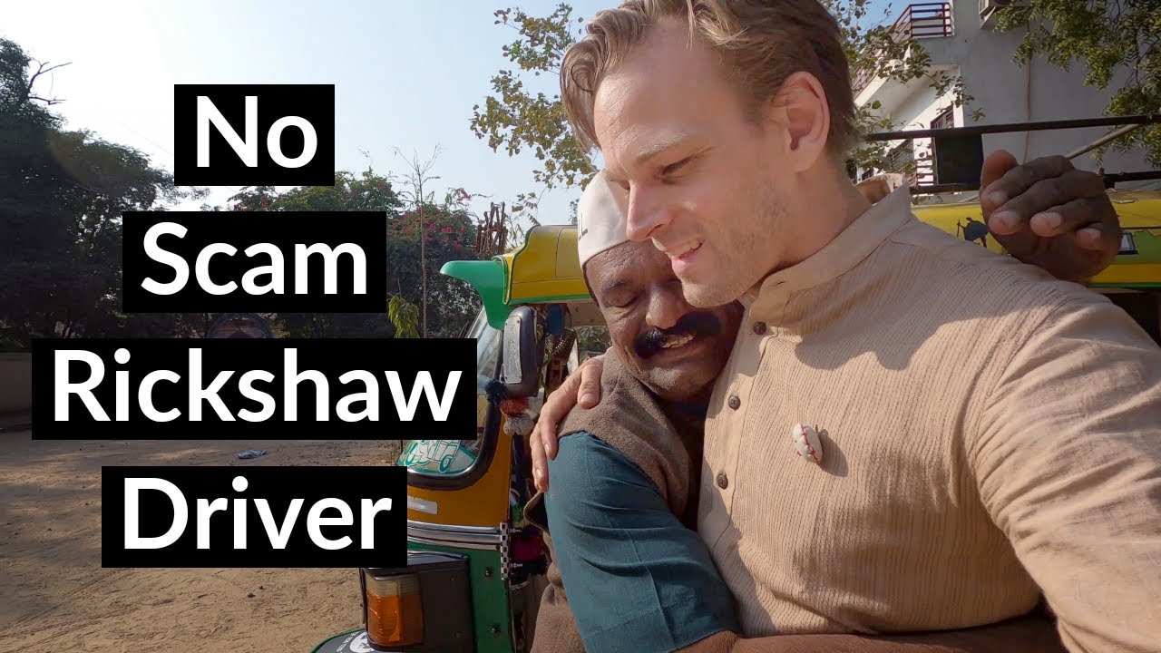 The BEST Rickshaw Driver in India - NO SCAM ?