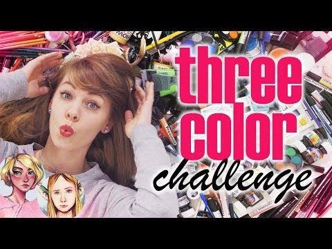 THREE COLOR CHALLENGE z Black Worn Jeans i Czkawką 🎨