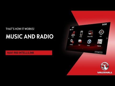 Music & Radio | Navi 900 IntelliLink | Vauxhall