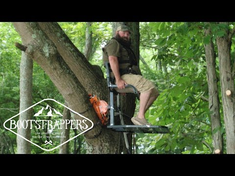 Hunt Wherever You Want Using Out On A Limb MFG's TS1 Treestand | Bootstrappers