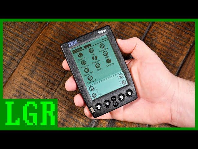 IBM WorkPad 20X: The 1998 Palm PDA Experience