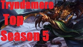 Ranked DuoQ: Season 5 Tryndamere Top vs Gnar