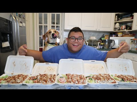 Massive Chicken Over Rice Challenge!