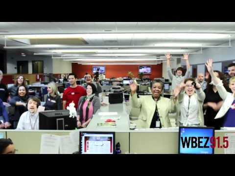 Jerome McDonnell and WBEZ staff say Thank You