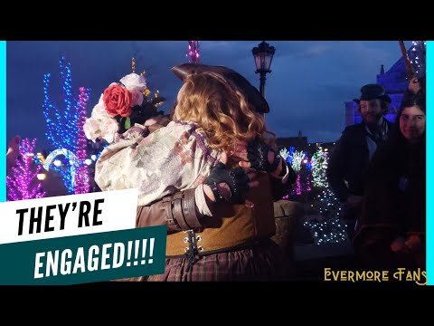 Dervel Proposed To Cleo And SHE SAID YES! - Evermore Park