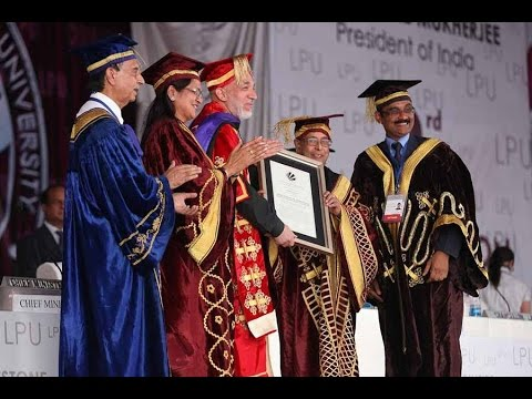 LPU's 3rd Convocation Ceremony 2013