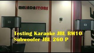 Speaker Karaoke JBL RM10