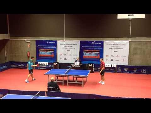 Endika Díez - Carlos Machado (Spanish Table Tennis Superdivision 2013/14) Set 3 of 3