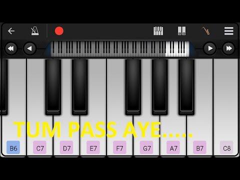 Tum Pass aaye yu Muskuraye bollywood song instrumental by Android Piano