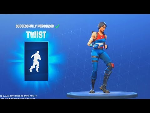 *NEW* TWIST DANCE EMOTE (Fortnite Item Shop Update July 13)