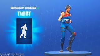 *NEW* TWIST DANCE EMOTE (Fortnite Item Shop Update July 13)