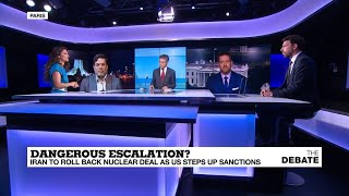 Dangerous escalation? Iran to roll back nuclear deal as US steps up sanctions