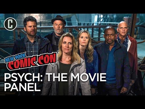 Psych: The Movie Panel - NYCC 2017