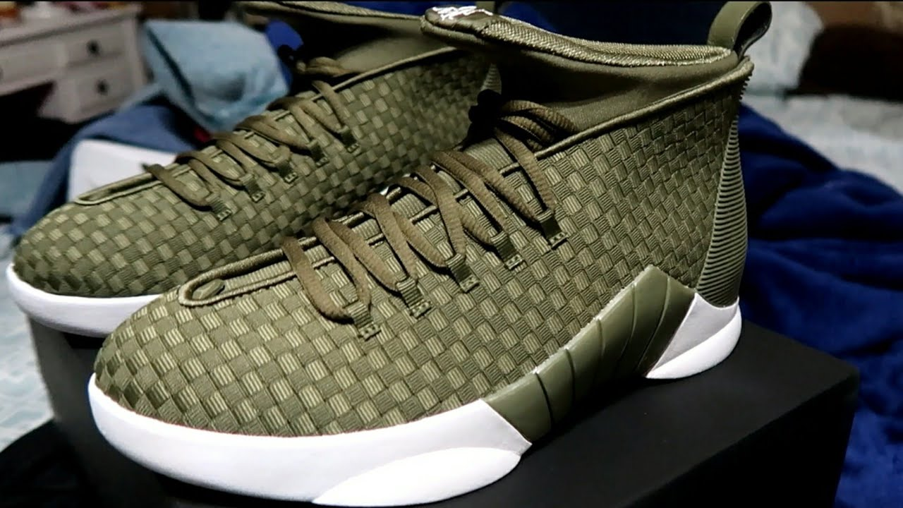 PSNY x Air Jordan 15 Olive UNBOXING - The Best Jordans 15 s    My First  Impression  49b24dbb2