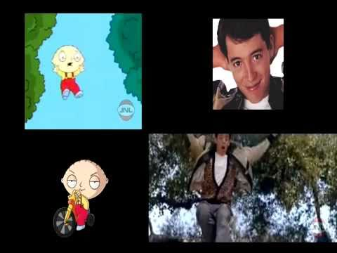 Family Guy - Ferris Bueller's Day Off - Running Scene (Original JNL Video)