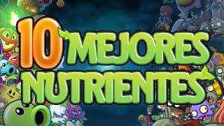 Top 10 Mejores Nutrientes de Plants Vs Zombies 2