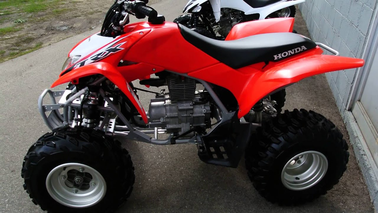 2014 Honda Trx250x Atv Youtube
