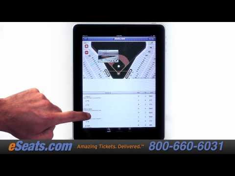 Introducing The ESeats Ticket IPhone, IPad And Android App