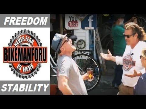 CNBC's Jim Cramer Takes Stock Of His Brooklyn Bicycle - BikemanforU Show