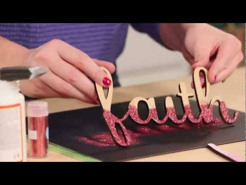 How to Decorate Your Walls with MDF Wall Lettering