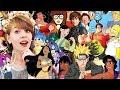 Gdyby postacie z kreskówek miały dzieci 👶 DISNEY i inne