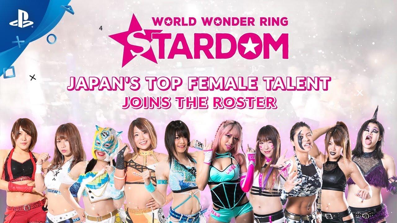 Fire Pro Wrestling World - Gamescom 2019 World Wonder Ring Stardom ...
