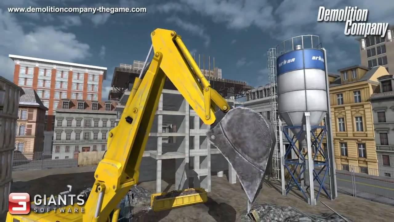 demolition company der abbruch-simulator demo