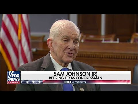 'A True American Hero': Chaffetz Salutes Air Force Vet, Former POW Sam Johnson as He Leaves Congress