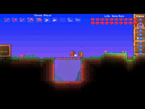 terraria 1 1 how to make a red wire trapdoor youtube rh youtube com wires terraria wiki Moon Lord Terraria Wiki
