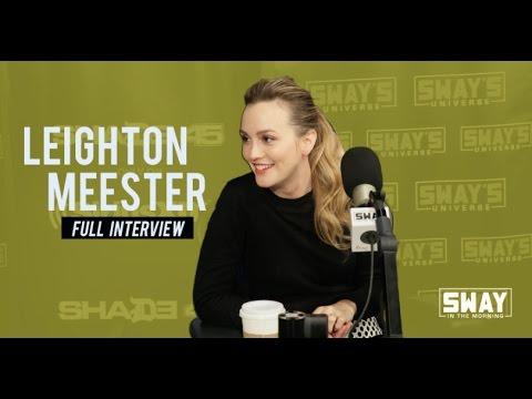 Leighton Meester Talks Time Travel, Social Media & Oochie Wally