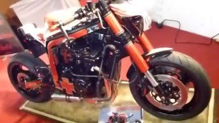 Streetfighter  Suzuki GSX-R 750 ''Agent Orange''  by Heavy Street Bikes * Playlist