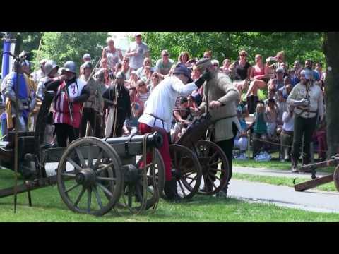Slag om de poorten van Kampen (hanzedagen Kampen)