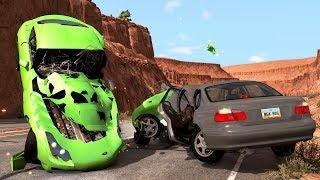 Traffic Car Crashes Compilation #6 - BeamNG.Drive