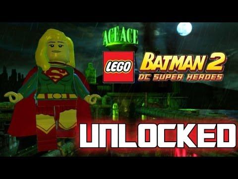 LEGO Batman 2 DC Superheroes - How to Unlock SuperGirl